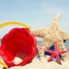 Sandförmchen am Strand